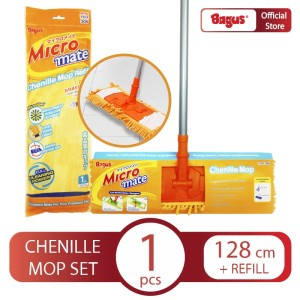 Bagus Micromate Chenille Mop Set + refill