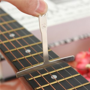 9Pcs Guitar Bass Under String Radius Gauge Setup for Luthier Stainless Steel Too