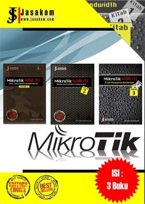 Mikrotik Kung Fu Boxset (3 buku, Kitab 1-3)