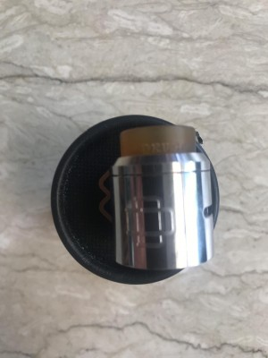 Docktip RDA Druga Warna Silver (Authentic)