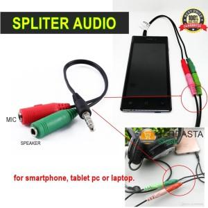 Spliter audio kabel smartphone