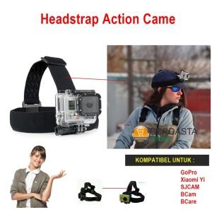 Aksesoris came Headstrap Action Came GoPro XiaomiYi SJCAM BCam BCare