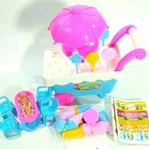 Mainan Gerobak Ice Cream Mini