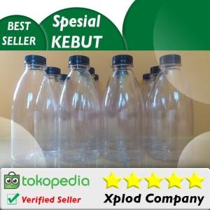 12 pcs Grosir Botol Kemasan Minuman Model Cantik 350 ml Susu dan Jus