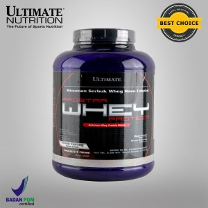 Prostar 100% Whey Protein, 5.28 lbs (Chocolate) - Ultimate Nutrition