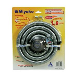 Paket Selang gas Miyako RMS-106 + Regulator