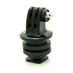 Foray M-CG Tripod Screw to SLR Camera Flash Shoe Mount Adapter GoPro