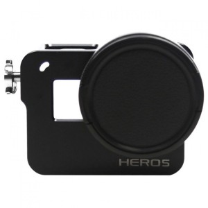 CNC Aluminium Protective Case for GoPro Hero 5/6/7