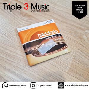 D'addario EZ900 10-50 ORIGINAL RESMI Senar gitar akustik elektrik