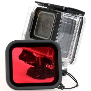 Red Filter Lens Camera for Gopro Hero 5/6/7