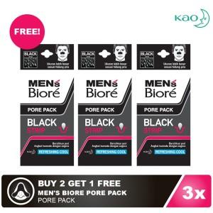 [BUY 2 GET 1 FREE] Men's Biore Pore Pack