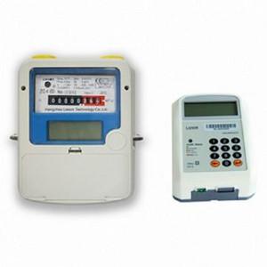 RF Wireless STS Prepaid Gas Meter