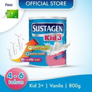 Sustagen Kid Susu Pertumbuhan Vanila 800g Free Dettol Wipes 10S