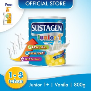 Sustagen Junior Susu Pertumbuhan Vanila 800g Free Handwash