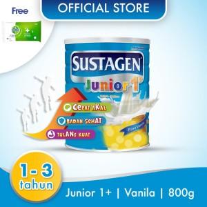 Sustagen Junior Susu Pertumbuhan Vanila 800g Free Dettol Wipes 10S