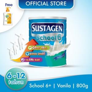 Sustagen School Susu Pertumbuhan Vanila 800g Free Handwash