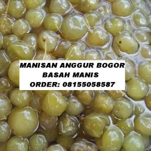 MANISAN ANGGUR BOGOR BASAH MANIS