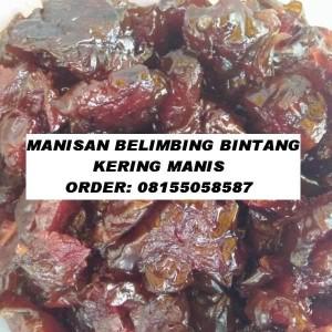 MANISAN BELIMBING BINTANG KERING MANIS
