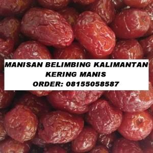 MANISAN BELIMBING KALIMANTAN (MANALAGI) KERING MANIS
