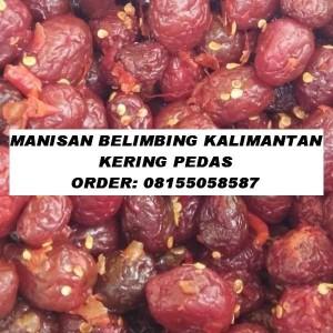 MANISAN BELIMBING KALIMANTAN (MANALAGI) KERING PEDAS