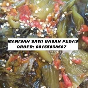 MANISAN SAWI BASAH PEDAS