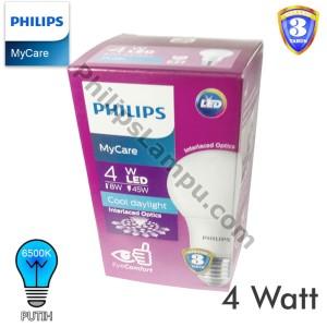 Lampu LED Bulb Philips MyCare 4W Ledbulb 4 Watt