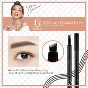 pensil alis madame gie silhouette natural brow