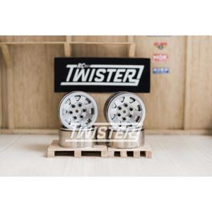 Xtraspeed 8 Spoke High Mass Beadlock Wheels 1.9 inch 4pcs