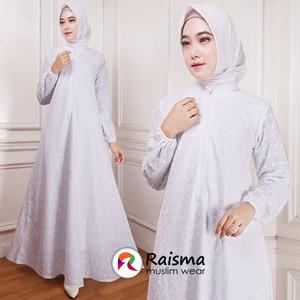 Gamis Putih Katun Jepang / Gamis Untuk Umroh Haji / Baju Gamis Putih