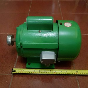 Dinamo Single Phase AC Motor Type JY09A-4 free Pully