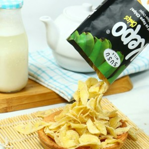 Kepo Chips Keripik/Kripik Pisang rasa Susu