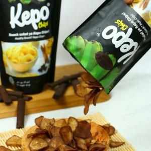 Kepo Chips Keripik/Kripik Pisang rasa Coklat/Cokelat