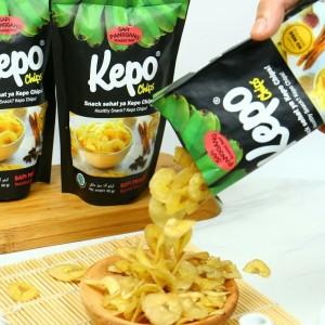 Kepo Chips Keripik/Kripik Pisang rasa Sapi Panggang
