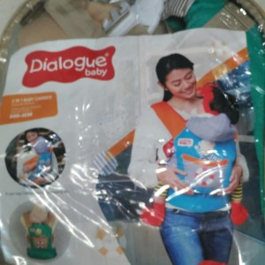 Dialogue 2 in 1 baby carrier