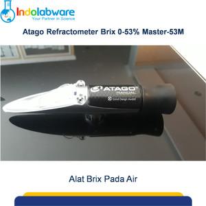 Atago Hand Refractometer Brix 0-53% Master 53M