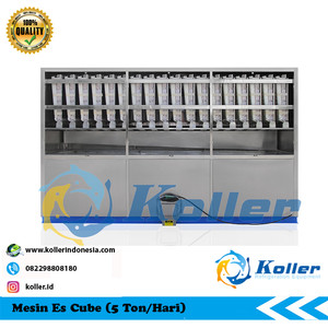 Mesin Es Cube CV5000 (5 Ton Per 24 Jam)