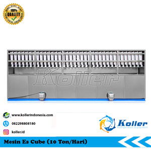 Mesin Es Cube CV10000 (10 Ton Per 24 Jam)