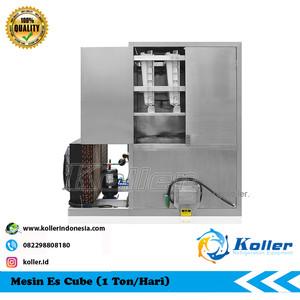 Mesin Es Cube CV1000 (1 Ton Per 24 Jam)