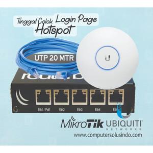 Paket Hotspot Indoor Super Long Range Untuk Cafe Dan Resto