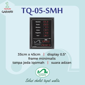 Jam Digital Masjid Tauqoly Type Tq 05 SMH