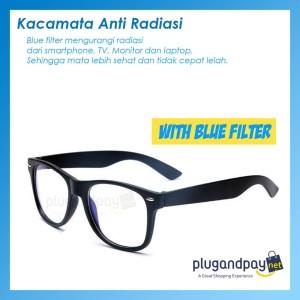 plugandpay - Kacamata Anti Radiasi Blue Light Komputer