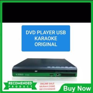 ichiko mini dvd player alat pemutar kaset cd dvd vcd mp3 mp4 karaoke