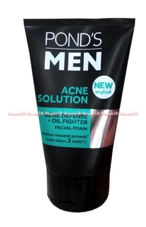 Menghilangkan Jerawat Dengan Ponds Men Acne Solution