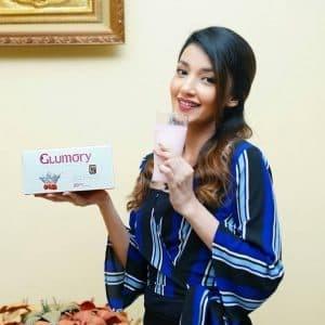 Jual Glumory Hafara Beauty Drink minuman kecantikan para artis