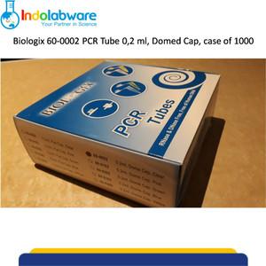 Biologix 60-0002 PCR Tube 0,2 ml, Dome Cap, Case of 1000