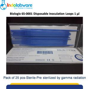 Biologix 65-0001 Inoculating Loop 1 ul Sterile Pack of 25