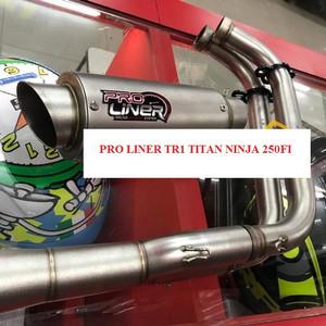 KNALPOT PROLINER TR1 TITAN NINJA 250FI