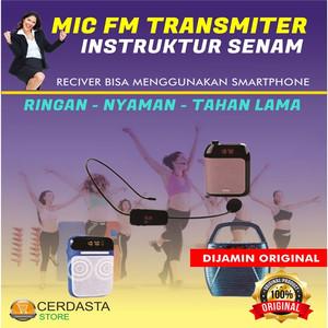 Headset Mic Fm / Mic Wireless FM Transmitter Microphone mini