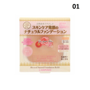 Canmake Refil Blessed natural Foundation free random