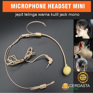 Mic Headset Skin Color Headset Invisible Microphone